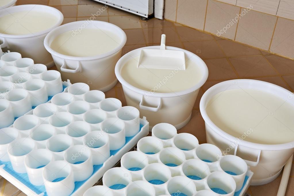 Moldes de pl stico y la leche con fermentos para queso de - Plastico para moldes ...