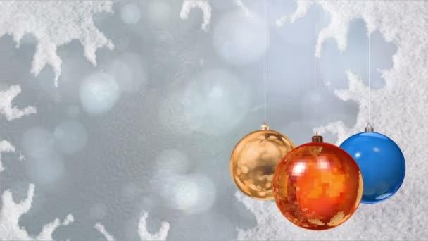 Vánoční koule. Pozadí.