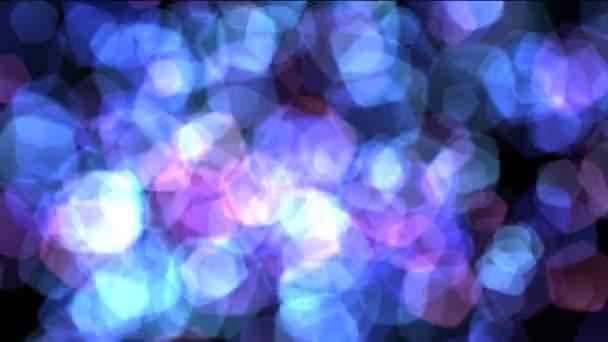 Kék, lila bokeh absztrakt világos háttér