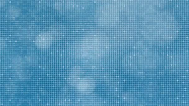 Modré odrážejí tečky abstraktní pozadí