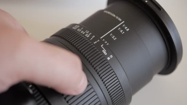 The zoom and focus on a modern camera