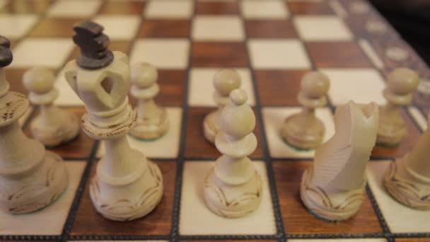 Fehér sakk. Panoráma csúszó.
