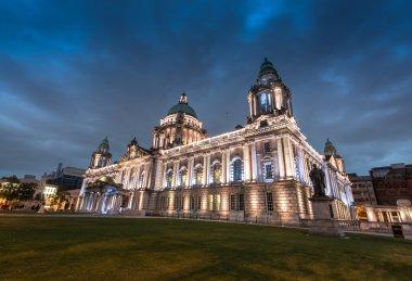 city hall of Belfast