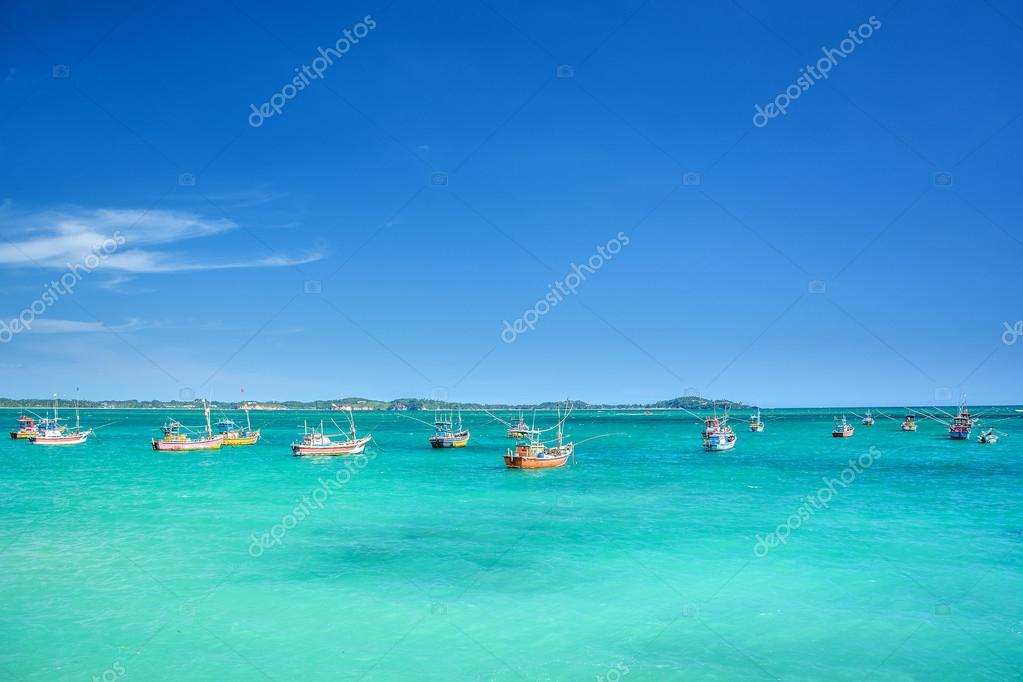 Fishing boats  in Srilanka
