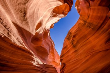 Antelope canyon in Grand canyon