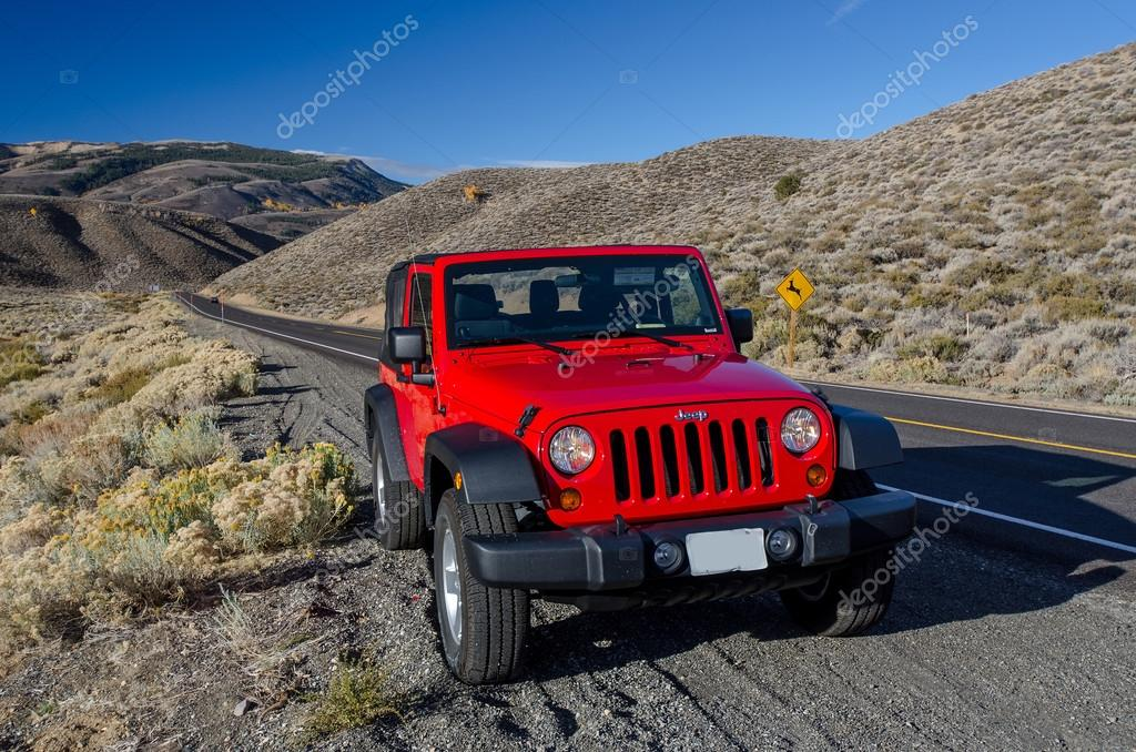 Jeep Wrangler in California