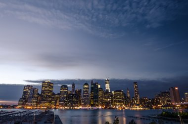 New York City at nigh