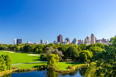 central park view to manhattan