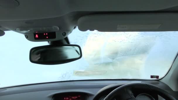 Čištění Frosty sklo