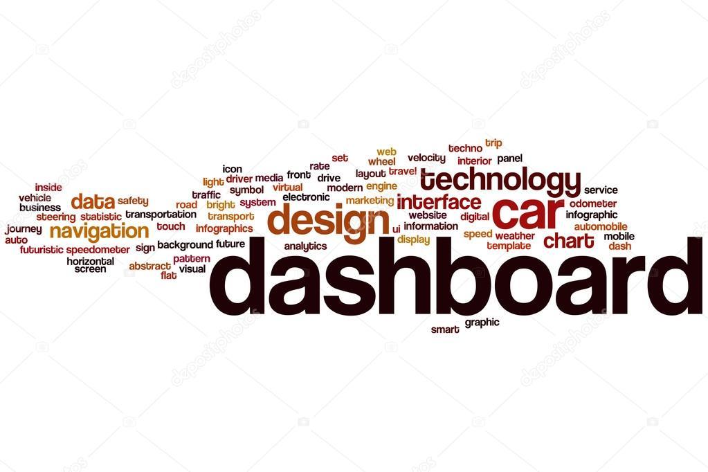Dashboard Word Cloud Stock Photo Ibreakstock - Word dashboard template