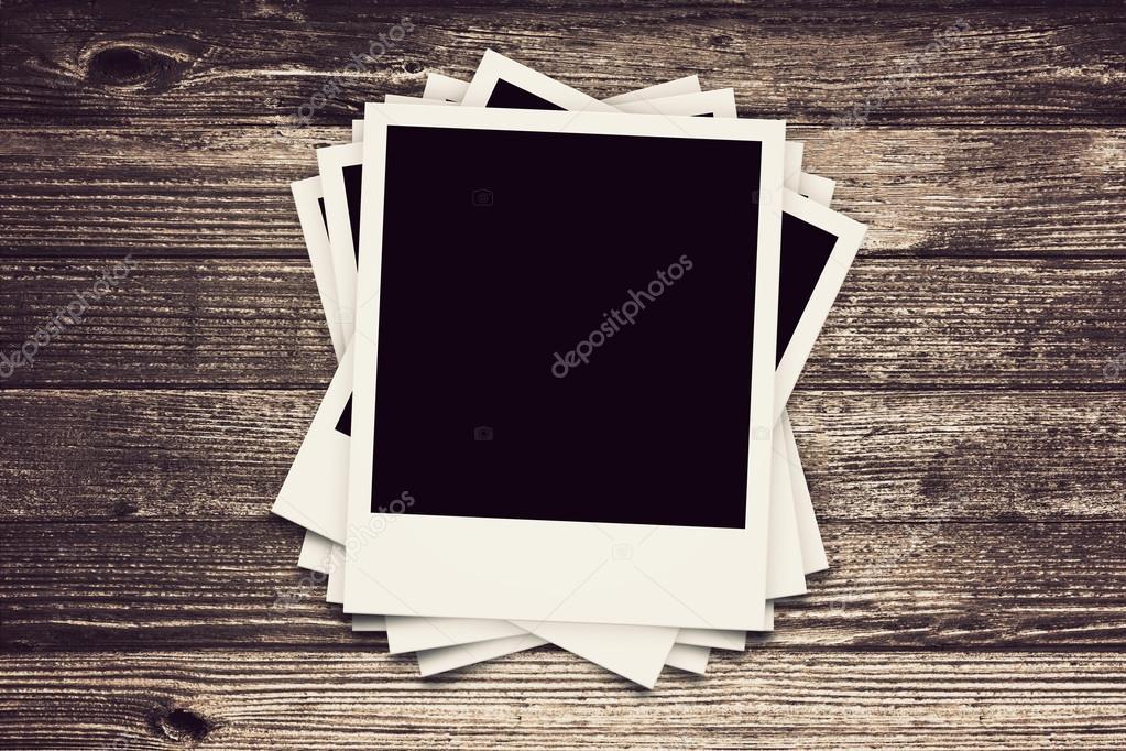 collection of Polaroid retro frames — Stock Photo © ibreakstock ...