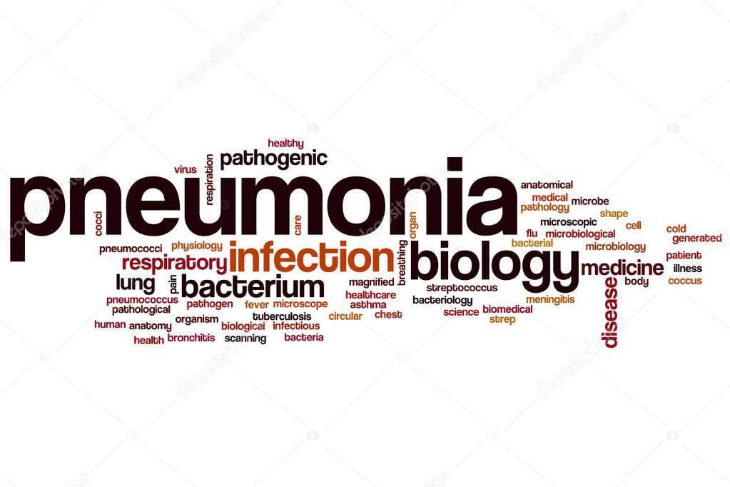 Pneumonia word cloud — Stock Photo © ibreakstock #102908358