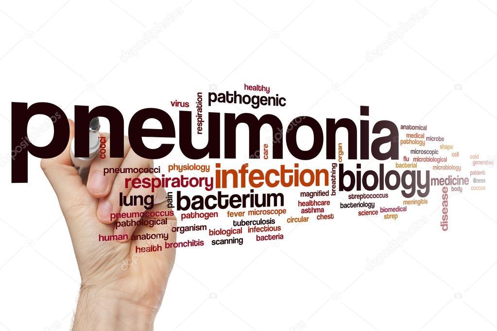 Pneumonia word cloud — Stock Photo © ibreakstock #105201200
