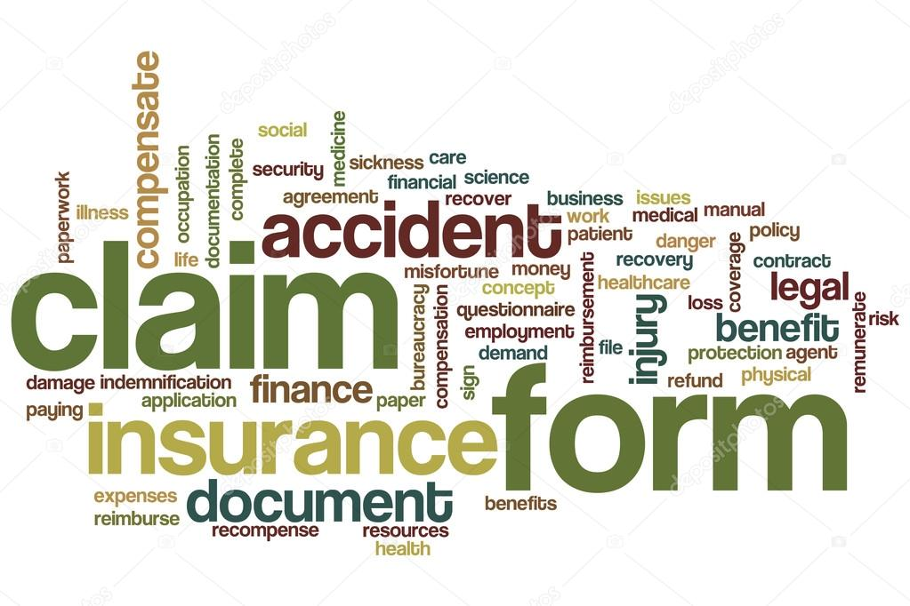 Claim Form Word Cloud — Stock Photo © Ibreakstock #119596910