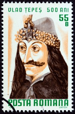 ROMANIA - CIRCA 1976: A stamp printed in Romania from the