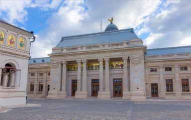 "Картина, постер, плакат, фотообои ""Дворец Патриарха, Бухарест, Румыния"", артикул 98477460"