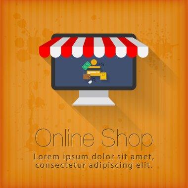 Online shop concept design