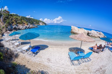 Xigia beach on Zakynthos island in Greece