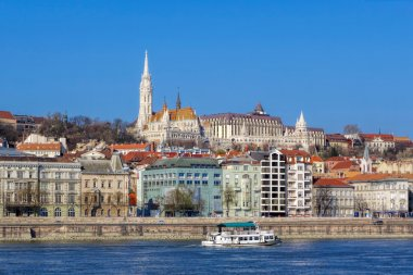 Budapest in Hungary with Danube river