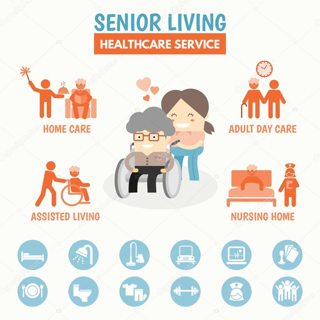 Senior Living health care service