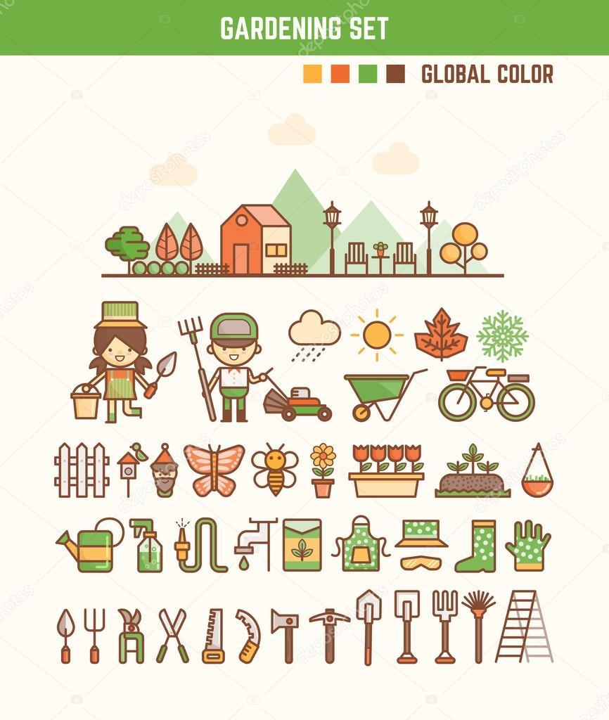 Elementos de infograf a para ni os sobre jardiner a for Elementos de jardineria