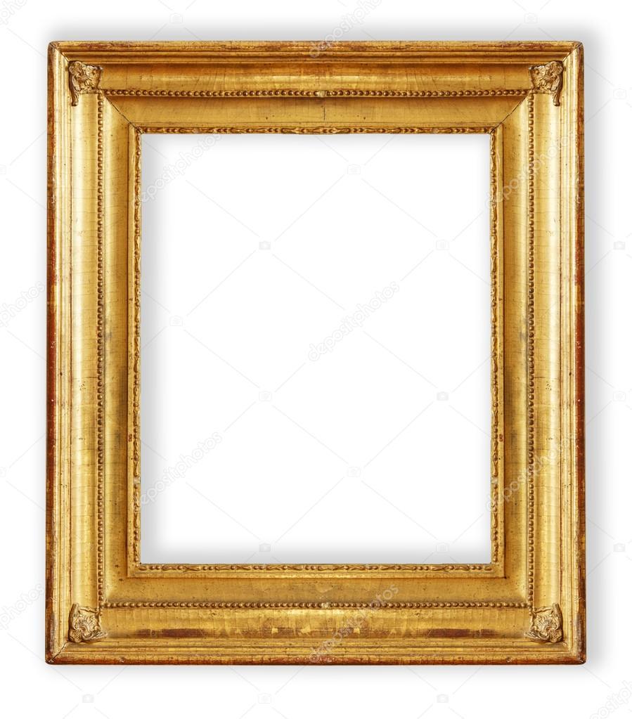 antique, gilded frame — Stock Photo © gurkoao #123428536