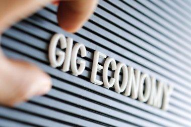 Gig Economy concept