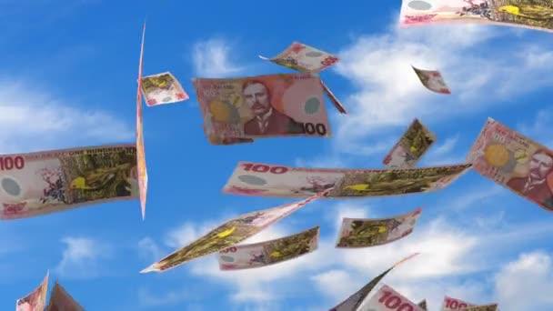 Falling New Zealand Dollar