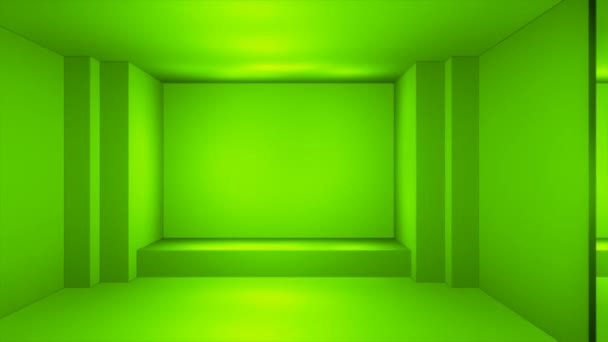 Broadcast Passing Hi-Tech Wash Space Alley, Zöld, Közlekedés, 3D, 4K