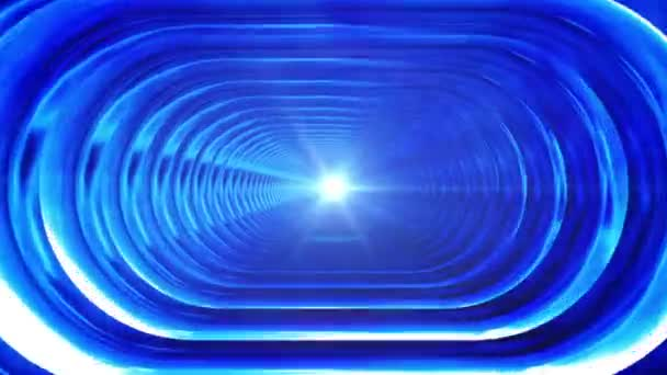 Broadcast Endless Hi-Tech Tunnel, Blue, Corporate, Loopable, HD
