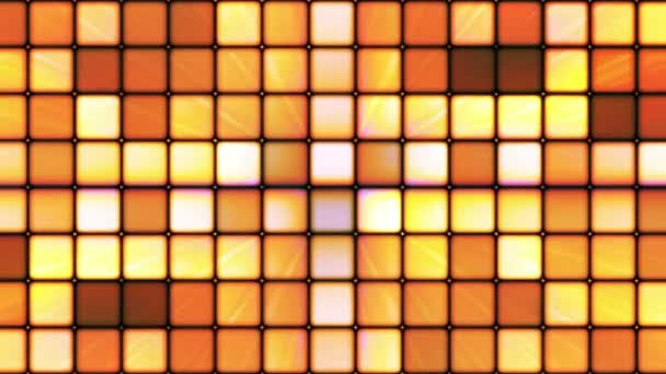 Broadcast Twinkling Hi-Tech Cubes, Orange, Abstract, Loopable, HD
