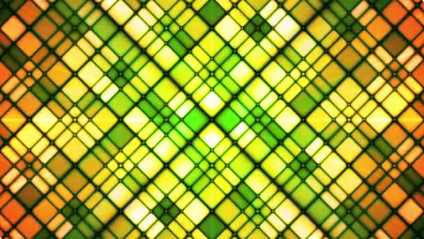 Broadcast Twinkling Cubic Diamonds, Green, Abstract, Loopable, HD