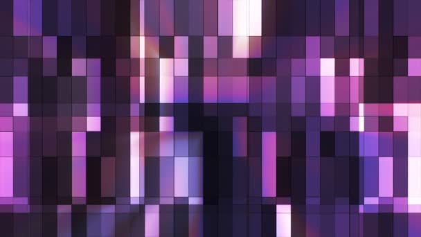 Broadcast Twinkling Hi-Tech Small Bars, Purple, Abstract, Loopable, HD