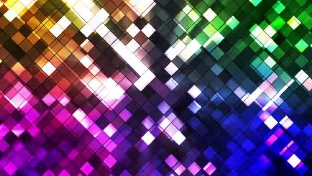 Broadcast Twinkling Squared Diamonds, Multi Color, Abstract, Loopable, HD