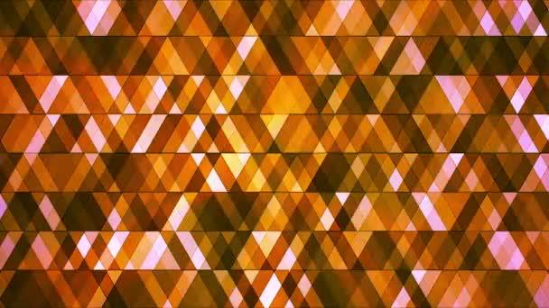 Broadcast Twinkling Hi-Tech Diamonds, Orange, Abstract, Loopable, HD
