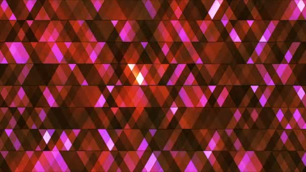 Broadcast Twinkling Hi-Tech Diamonds, Red, Abstract, Loopable, HD