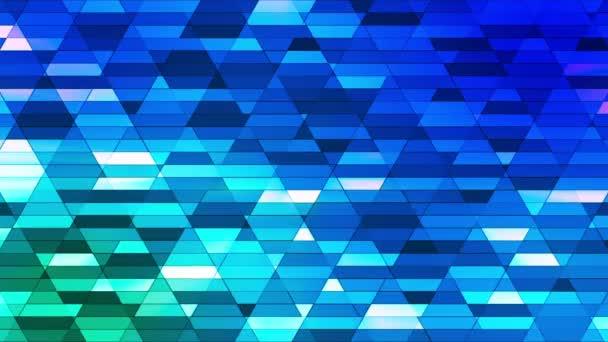 Vysílání diamantové malé pruhy Hi-Tech, modrá, abstraktní, Smyklič, HD