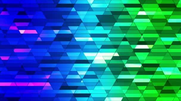 Sugárzott twinkling Diamond Hi-tech kis bárok, multi Color, absztrakt, loopable, HD