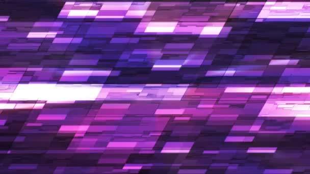 Twinkling Horizontal Slant Hi-Tech Small Bars, Purple, Abstract, Loopable, HD