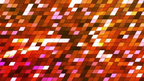 Roztané záblesku Hi-Tech čtverce, oranžový, abstraktní, smyk, HD