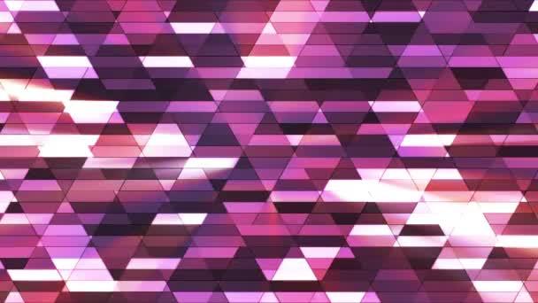 Sugárzott twinkling Diamond Hi-tech kis bárok, lila, absztrakt, loopable, HD