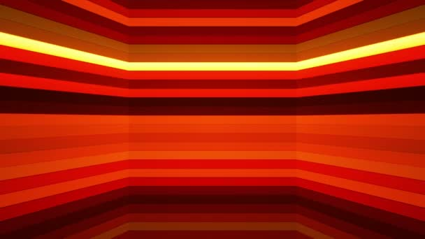 Broadcast Twinkling Horizontal Hi-Tech Bars Shaft, Red, Abstract, Loopable, HD