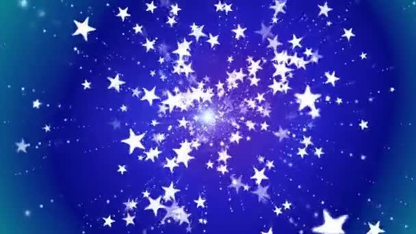 Broadcast Shooting High-Tech-Stars, blau, Veranstaltungen, loopable, hd