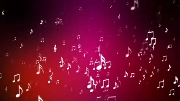 Broadcast Rising Music Notes Maroon Events Loopable Hd Stock Video C Acme Designs 99153664