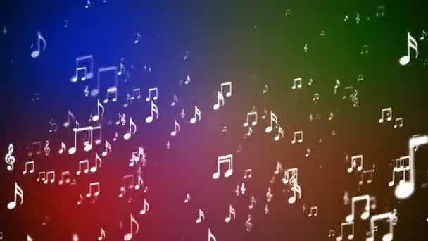 Broadcast Rising Music megjegyzi, multi Color, események, loopable, HD