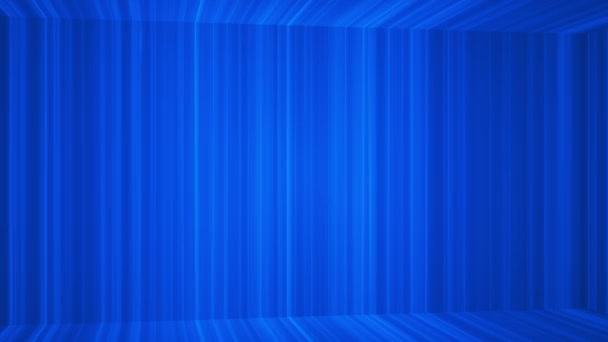 Broadcast Vertical Hi-Tech Lines Passage, Blue, Abstract, Loopable, HD