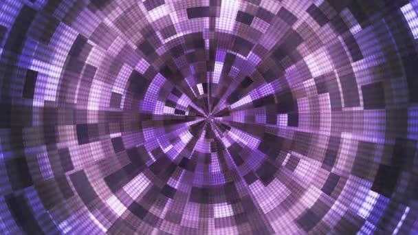 Twinkling Hi-Tech Grunge Flame Tunnel, Purple, Corporate, Loopable, HD