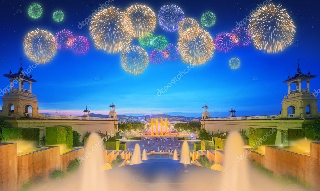Поздравлялка и пожелалка 3 (новая тема) - Страница 8 Depositphotos_106850438-stock-photo-beautiful-fireworks-under-fountain-barcelona