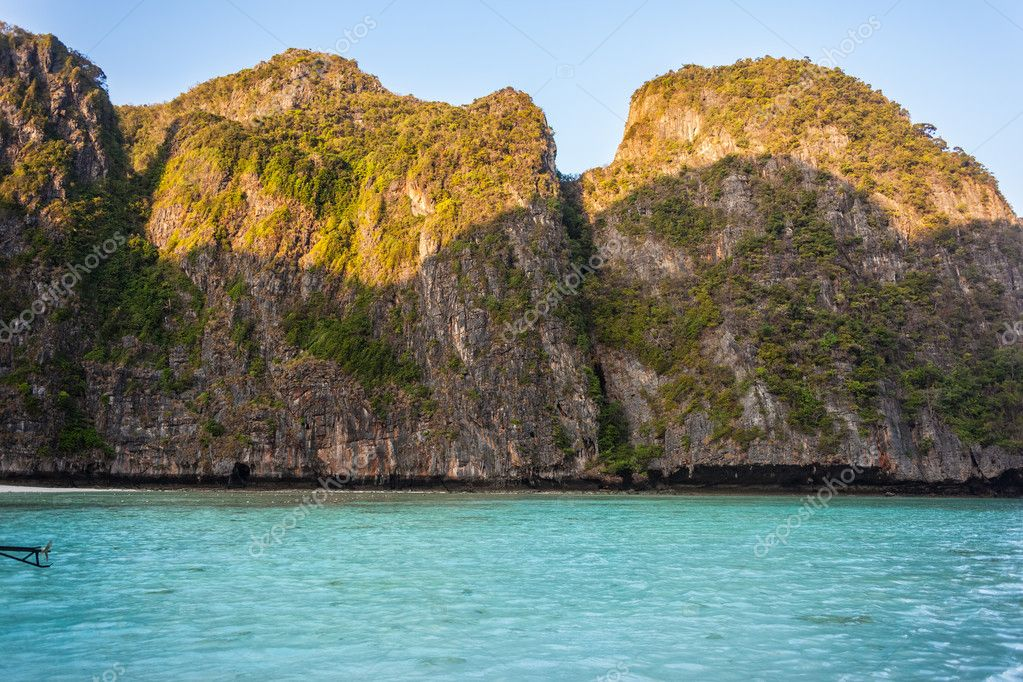 Tropical bay in thailand