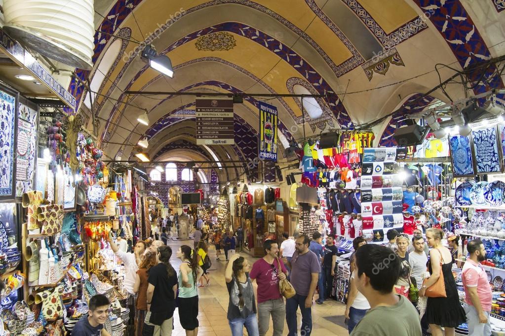 76ef7ae6e8 Εμπορικό κέντρο στο μεγάλο παζάρι στην Κωνσταντινούπολη– Εκδοτικές  Φωτογραφίες Αρχείου